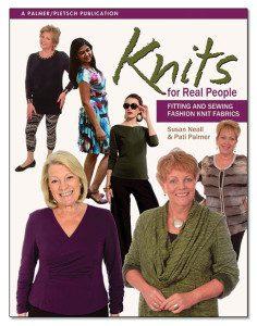 knit sewing books