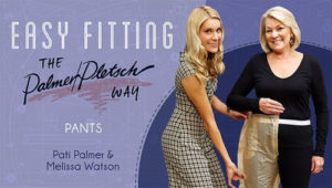 learn how to fit and sew pants
